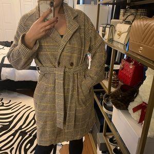 Lulus belted coat